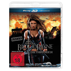 Bloodrayne 3 - The Third Reich 3D (Blu-ray 3D) Blu-ray