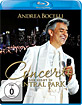 Andrea Bocelli - Concerto: One Night Central Park Blu-ray