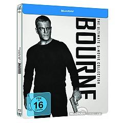Bourne 1-5 (Limited Steelbook Edition) (Blu-ray + UV Copy) Blu-ray
