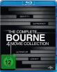 Bourne: The Complete 4 Movie Collection Blu-ray