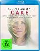 Cake (2014) (Blu-ray + UV Copy) Blu-ray