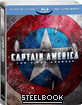 Captain America: The First Avenger 3D - Steelbook (Blu-ray 3D) (FR Import) Blu-ray