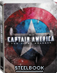 Captain America: The First Avenger 3D - Steelbook (Blu-ray 3D + Blu-ray + DVD (JP Import ohne dt. Ton) Blu-ray
