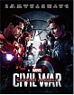 Captain America: Civil War (2015) 3D - Blufans Exclusive Limited Full Slip Edition Steelbook (CN Import ohne dt. Ton) Blu-ray