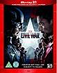 Captain America: Civil War (2015) 3D (Blu-ray 3D + Blu-ray) (UK Import) Blu-ray
