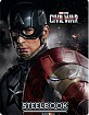 The First Avenger: Civil War 3D - Zavvi Exclusive Limited Edition Lenticular Steelbook (Blu-ray 3D + Blu-ray) (UK Import) Blu-ray