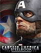 Captain America: The First Avenger 3D - Zavvi Exclusive Limited Lenticular Edition Steelbook (Blu-ray 3D + Blu-ray) (UK Import) Blu-ray