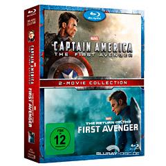 Captain America: The First Avenger + The Return of the First Avenger (Doppelset) Blu-ray