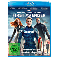 Captain America: The Return of the First Avenger Blu-ray