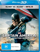 Captain America: The Winter Soldier 3D (Blu-ray 3D + Blu-ray + UV Copy) (AU Import ohne dt. Ton) Blu-ray