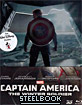 Captain America: The Winter Soldier 3D - Limited Edition Steelbook (Blu-ray 3D + Blu-ray) (TH Import ohne dt. Ton) Blu-ray