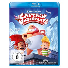 Captain Underpants - Der supertolle erste Film (Blu-ray + Digital Copy) Blu-ray