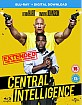Central Intelligence - Theatrical and Extended Cut (Blu-ray + UV Copy) (UK Import ohne dt. Ton) Blu-ray