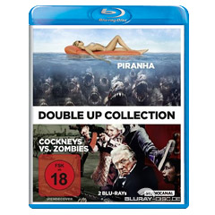 Cockneys vs. Zombies + Piranha (Double-Up Collection) Blu-ray
