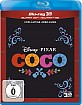 Coco - Lebendiger als das Leben! 3D (Blu-ray 3D + Blu-ray) (CH Import) Blu-ray