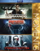 Commando + Predator + Terminator (Arnold Schwarzenegger Triple Feature) (Region A - US Import ohne dt. Ton) Blu-ray
