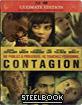 Contagion - Steelbook (Blu-ray + DVD + Digital Copy) (FR Import) Blu-ray