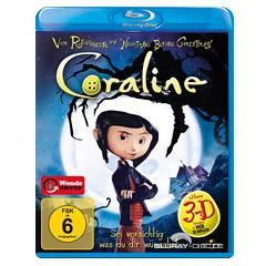 Coraline 3D (Classic 3D) Blu-ray
