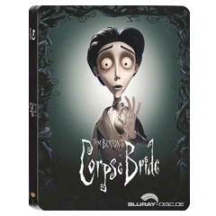 Corpse Bride - Entertainment Store Exclusive Limited Edition Steelbook (UK Import) Blu-ray