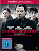 Criminal Activities - Überlasst die Verbrechen den Verbrechern (Limited Mediabook Edition) Blu-ray