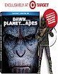 Dawn of the Planet of the Apes 3D (2014) - Target Exclusive (Blu-ray 3D + Blu-ray + UV Copy + Figur) (US Import ohne dt. Ton) Blu-ray