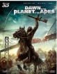 Dawn of the Planet of the Apes 3D - Collectors Edition (Blu-ray 3D + Blu-ray + DVD) (JP Import ohne dt. Ton) Blu-ray