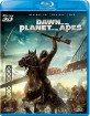 Dawn of the Planet of the Apes 3D (Blu-ray 3D + Blu-ray + DVD) (JP Import ohne dt. Ton) Blu-ray