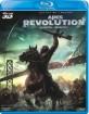 Apes Revolution - Il Pianeta Delle Scimmie 3D (Blu-ray 3D + Blu-ray) (IT Import ohne dt. Ton) Blu-ray
