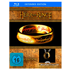 The Lord Of The Rings Extended Editions Blue Ray Disc