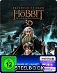 Der Hobbit: Die Schlacht der Fünf Heere 3D - Extended Version (Limited Edition Steelbook) (Blu-ray 3D + Blu-ray + UV Copy) Blu-ray