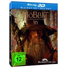 Der Hobbit: Eine unerwartete Reise 3D (Blu-ray 3D + Blu-ray) Blu-ray
