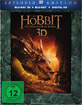 Der Hobbit: Smaugs Ein�de 3D - Extended Version (Blu-ray 3D + Blu-ray + UV Copy) Blu-ray