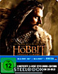 Der Hobbit: Smaugs Einöde 3D - Limited Edition Steelbook inkl. 3D-Magnet-Lenticularcover (Blu-ray 3D + Blu-ray + UV Copy) Blu-ray