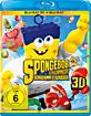 Der SpongeBob Schwammkopf Film - Teil 2: Schwamm aus dem Wasser 3D (Blu-ray 3D) Blu-ray