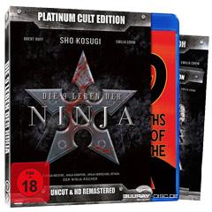 Die 9 Leben der Ninja - Platinum Cult Edition (Limited Edition) Blu-ray