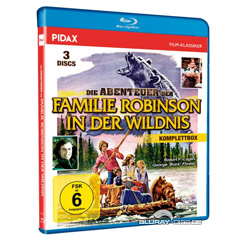 Die Abenteuer der Familie Robinson in der Wildnis (Komplettbox) (Neuauflage) Blu-ray