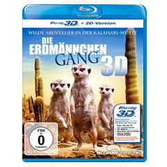 Die Erdmännchen Gang 3D (Blu-ray 3D) Blu-ray