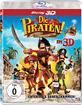 Die Piraten - Ein Haufen merkwürdiger Typen 3D (Blu-ray 3D) Blu-ray