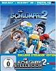 Die Schlümpfe 2 3D  - Lenticular Steelbook Edition (Blu-ray 3D + Blu-ray + UV Copy) Blu-ray