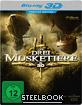 Die drei Musketiere (2011) 3D - Premium Edition (Steelbook) (Blu-ray 3D) Blu-ray