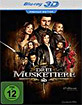 Die drei Musketiere (2011) 3D - Premium Edition (Blu-ray 3D) Blu-ray