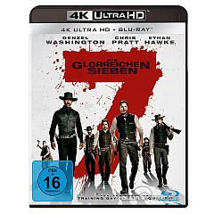 Die glorreichen Sieben (2016) 4K (4K UHD + Blu-ray + UV Copy) Blu-ray