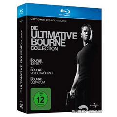 Die ultimative Bourne Collection (Teil 1 - 3) Blu-ray