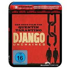 Django Unchained - Steelbook Blu-ray