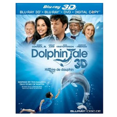 Dolphin Tale / Histoire de dauphin (Blu-ray 3D + Blu-ray + DVD + UV Copy) (CA Import ohne dt. Ton) Blu-ray
