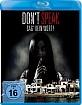 Don't Speak - Sag kein Wort! Blu-ray