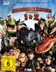 Drachenzähmen leicht gemacht 1+2 3D (Blu-ray 3D) (Doppelset) Blu-ray