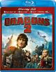 Dragons 2 3D (Blu-ray 3D + Blu-ray + DVD + Digital Copy + UV Copy) (FR Import) Blu-ray