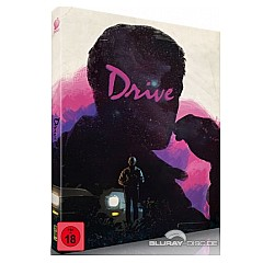 Drive (2011) (Limited Mediabook Edition) (Cover B) Blu-ray