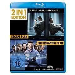 Ein riskanter Plan + Escape Plan (2 in 1 Edition) Blu-ray